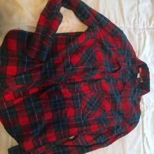 Tops - Flannel (XS, Forever21)